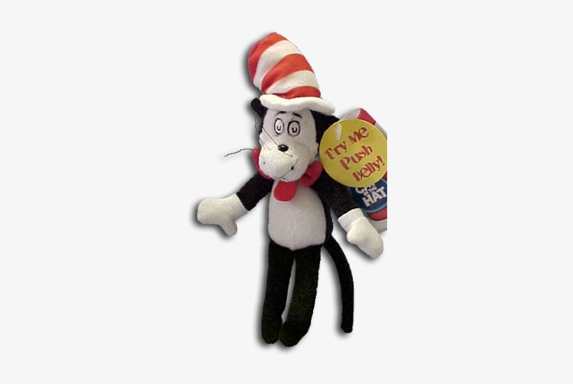 Cuddly Collectibles Dr Seuss Cat In The Hat Story Characters - Cat Inthe Hat Toys, transparent png #539164