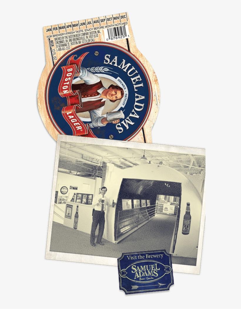 Legible Freshness Dating Is Introduced On All Samuel - Samuel Adams Boston Lager - 12 Pack, 12 Fl Oz Bottles, transparent png #5303594