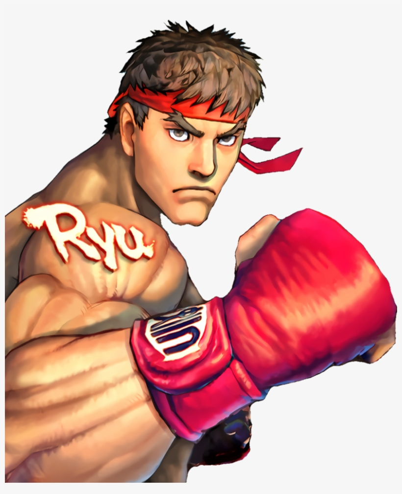 Street Fighter 4 Ryu Png Clip - Street Fighter Iv Pc Ryu Png, transparent png #5304941