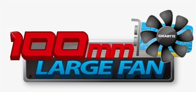 Gigabyte 10cm Fan Design - Fan, transparent png #5312877