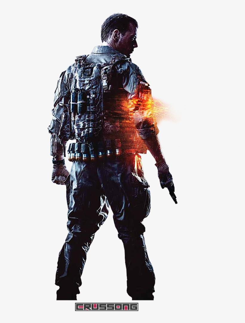 Battlefield 4 Soldier Rende - Battlefield 4 Premium Edition Ps4, transparent png #5318244