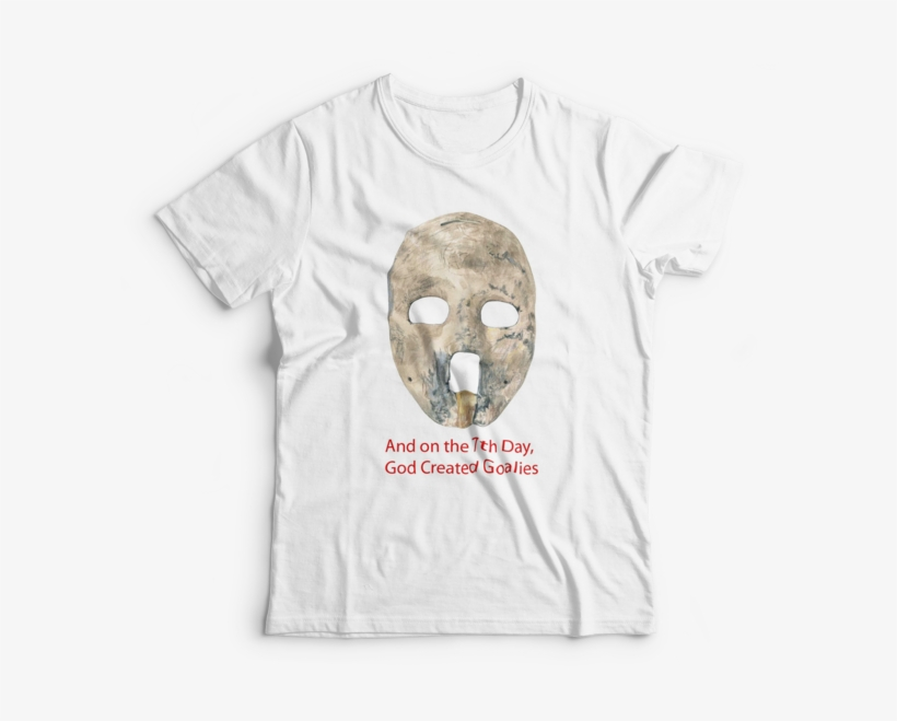 A Great T-shirt Featuring Jacques Plante's Famous Nhl - Camisa O Brasil Me Obriga Beber, transparent png #5326124