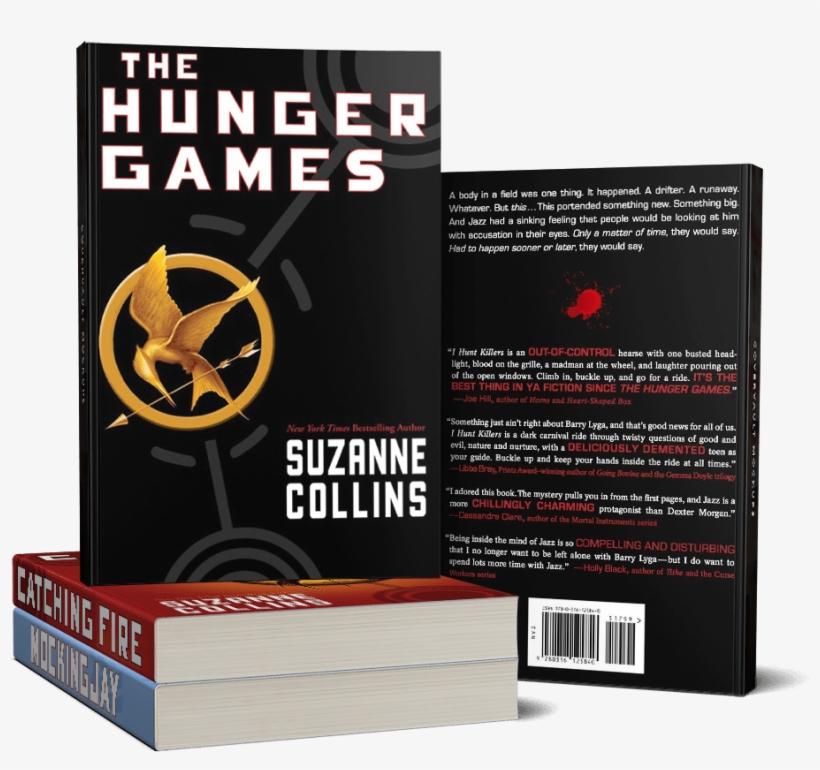 Hunger Games Books The - Hunger Games Books Paperback, transparent png #5330097