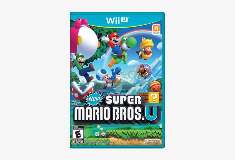 New Super Mario Bros - New Super Mario Bros. U Wii U, transparent png #5333583