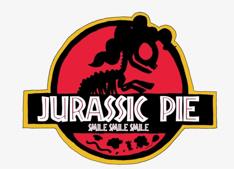 Lightdegel, Jurassic Park, Logo, Pinkie Pie, Ponies, - My Little Pony Jurassic Park, transparent png #5337846