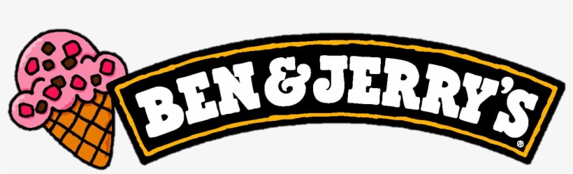 Later In 1981 The First Ben And Jerry's Ice Cream Franchise - Ben & Jerry Logo, transparent png #5345530