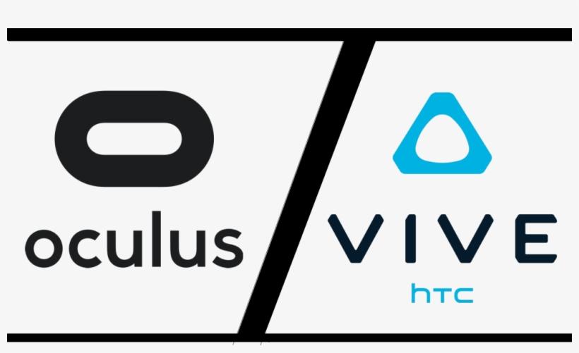 The Oculus Rift Vs - Oculus Rift Htc Vive Logo, transparent png #5348615