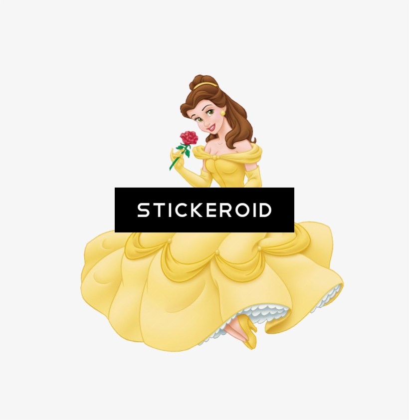Belle And Beast Beauty Cartoons Disney Princess The - Rave Outfit - Belle Costume Sexy - Halloween Costume, transparent png #5353049