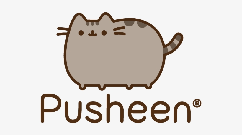 Happy Birthday To You Pusheen The Cat Greeting Card, transparent png #5356146
