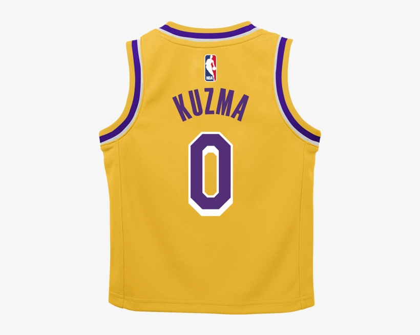Los Angeles Lakers Kids Kyle Kuzma Icon Replica Jersey - Toddler Lebron James Jersey Lakers, transparent png #5360043