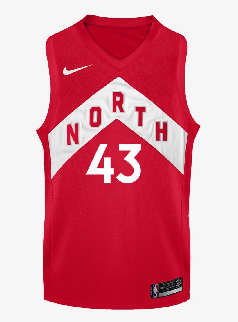 Toronto Raptors Nike Men's Swingman 2018 Earned Jersey - Toronto Raptors, transparent png #5360660