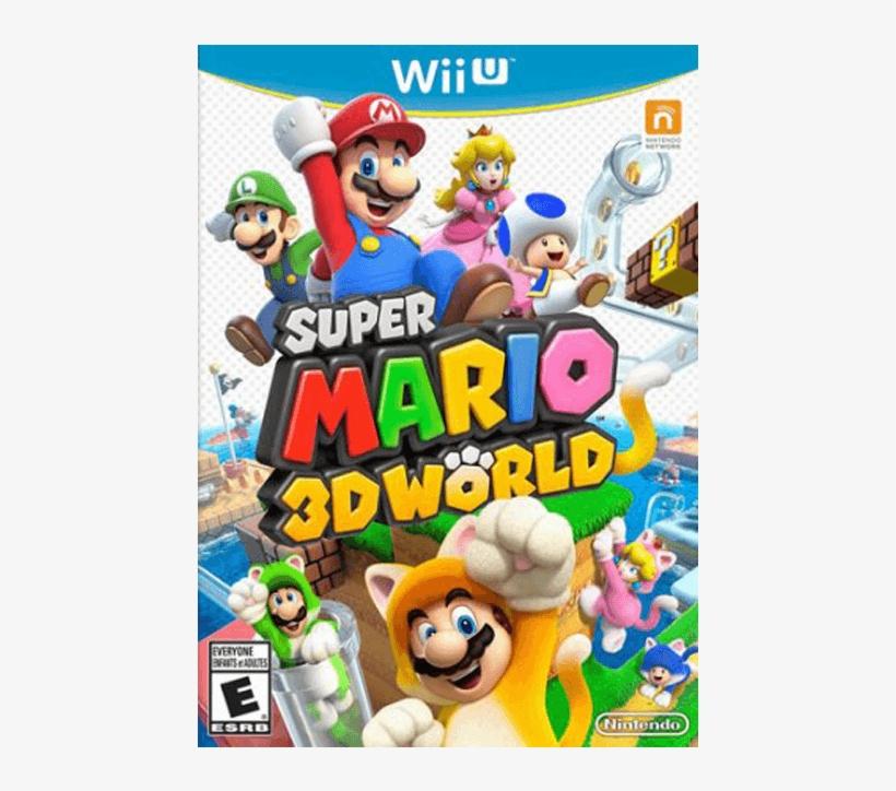 Super Mario 3d World - Super Mario 3d Wii U, transparent png #5363726