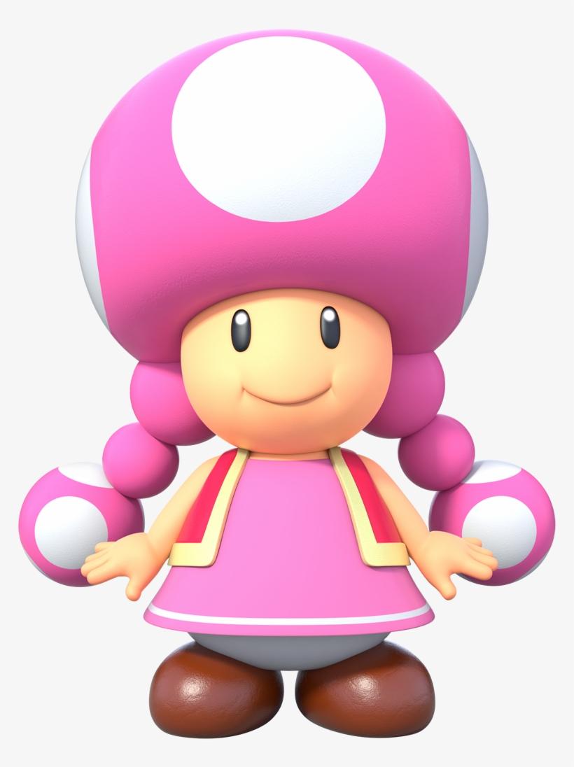 New Super Mario Bros - Toadette New Super Mario Bros U Deluxe, transparent png #5364017