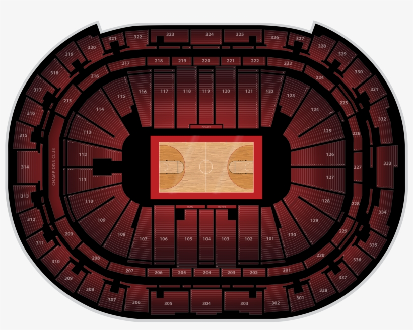 Pnc Arena Concert View Section 106, transparent png #5364185
