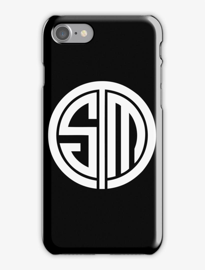Team Solomid Lol Logo White Iphone 7 Snap Case - Team Solomid, transparent png #5367072