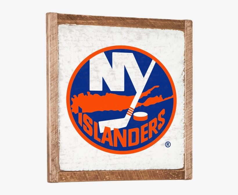 New York Islanders Vintage Wall Art - New York Islanders Logo .png, transparent png #5367899