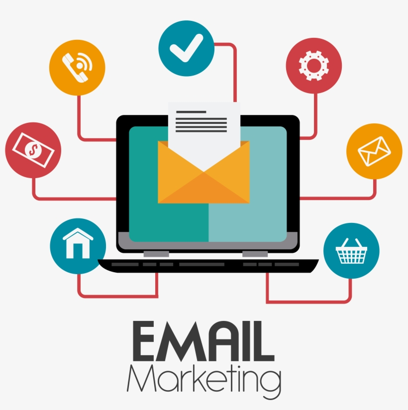 What Is Email Marketing - Email Marketing Images Png, transparent png #5370150