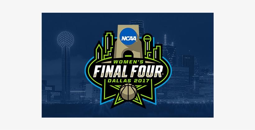 Ncaa Women's Final Four - 2017 Women's Final Four Logo Pin Dueling Teams Pin, transparent png #5371202