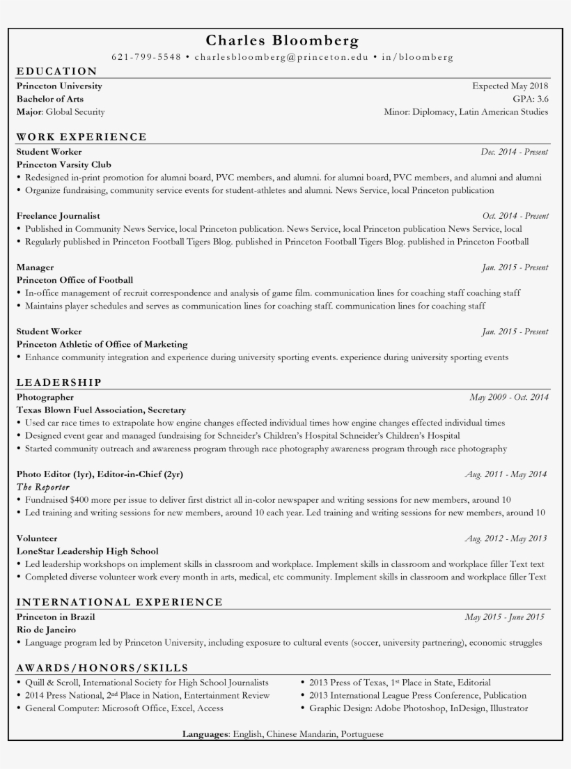 Resume Template Adobe Indesign Resume Template For Best Resume Template Reddit Free Transparent Png Download Pngkey