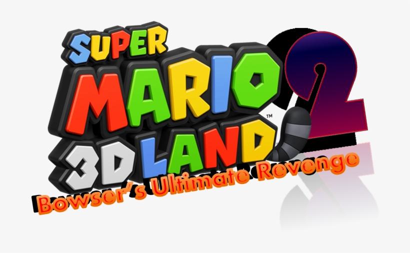 Sm3dl2 2nd Logo - Super Mario 3d Land Logo, transparent png #5373001