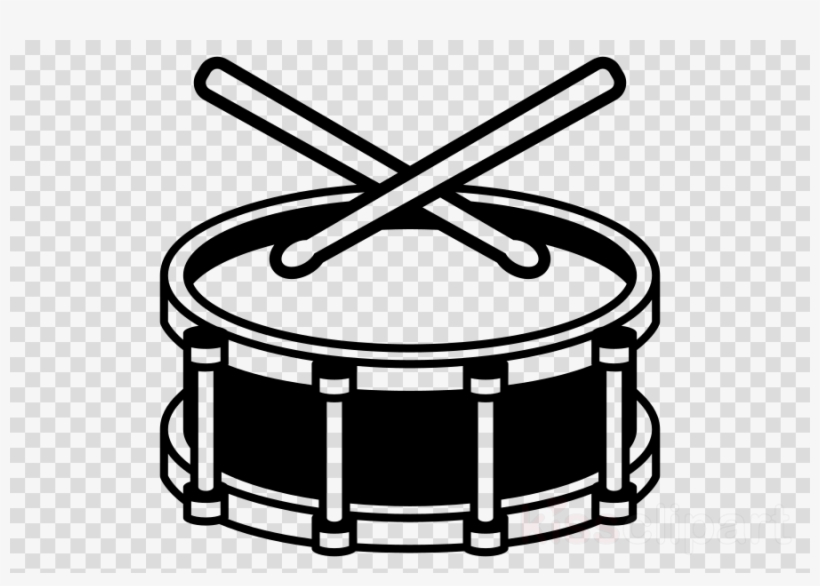Drum Emoji Png Clipart Snare Drums Sticks Brushes Black And