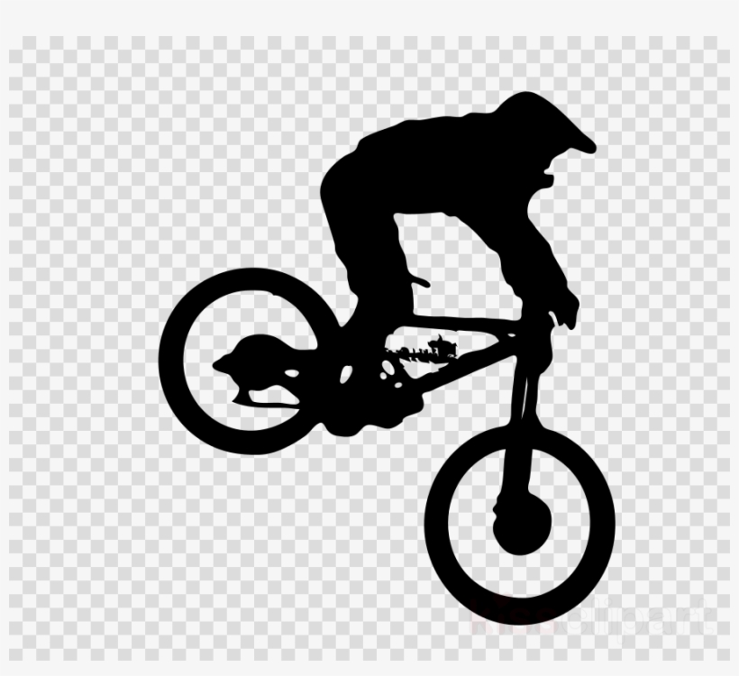 Keep Calm And Ride A Bike Clipart Bicycle Downhill - Keep Calm Ride A Bike, transparent png #5382176
