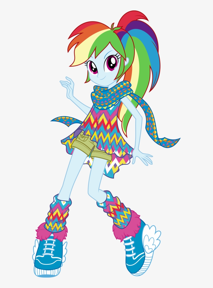 Popular Images - Equestria Girls Legend Of Everfree Rainbow Dash, transparent png #5386018