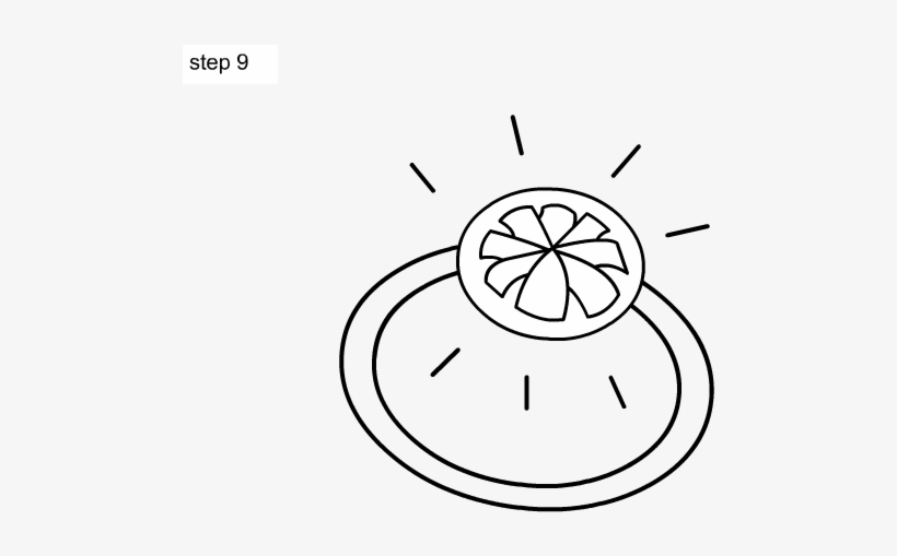 70-learn How To Draw A Ring For Kids, Step By Step, - Ring Drawing Kids, transparent png #5388224