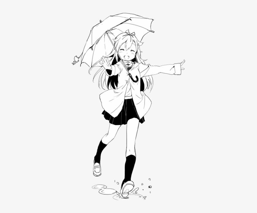 Kawaii, Manga, And Anime Image - Anime Girl Transparent Manga, transparent png #5394026