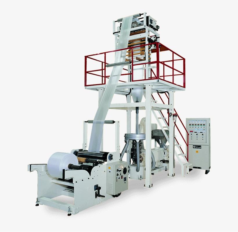 Hdpe/ldpe Economical High Speed Blown Film Machine - Machine Tool, transparent png #5398291