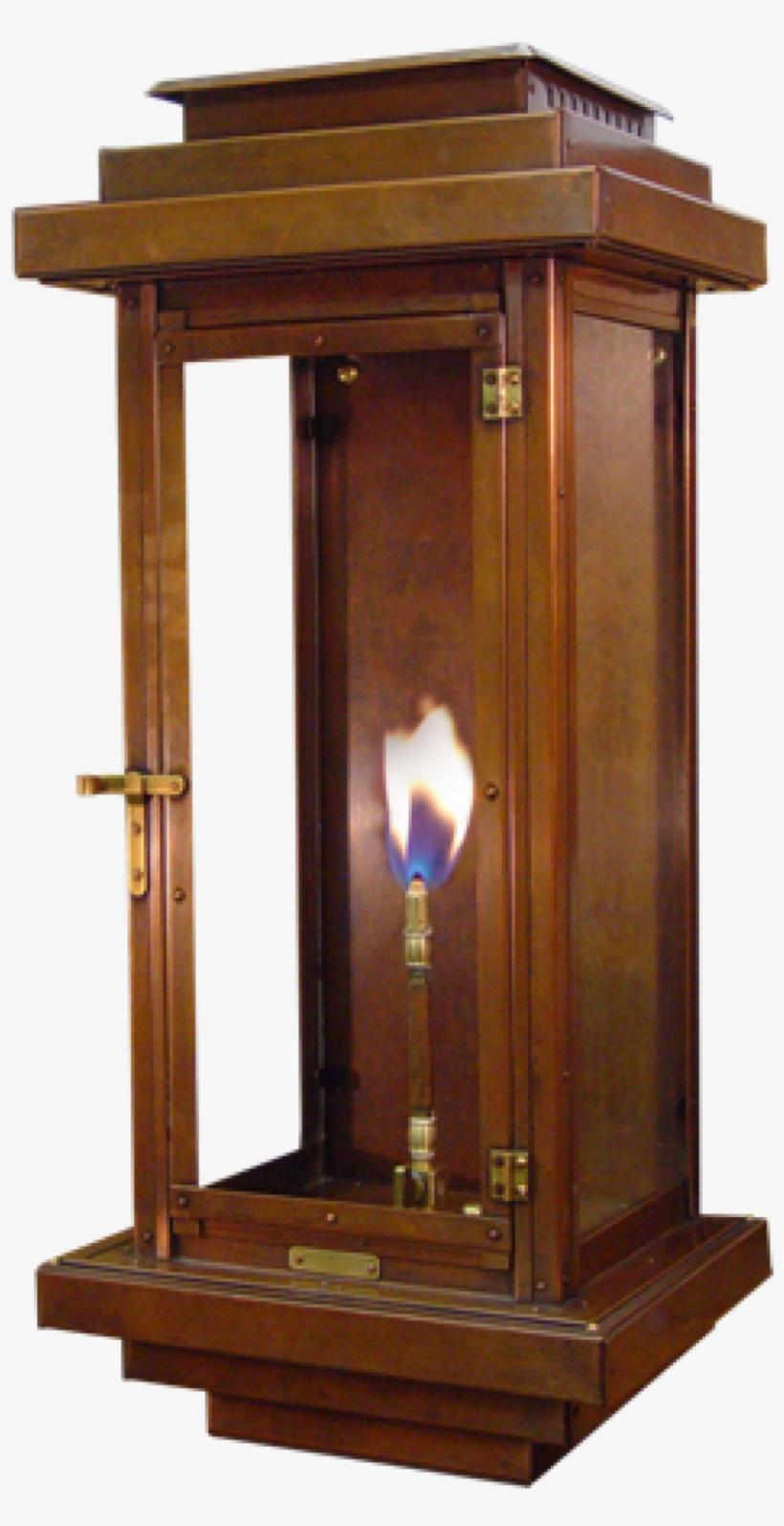 Fascinating Lamp Decoration In Natural Gas Light Fixtures - Gas Lighting, transparent png #5399083