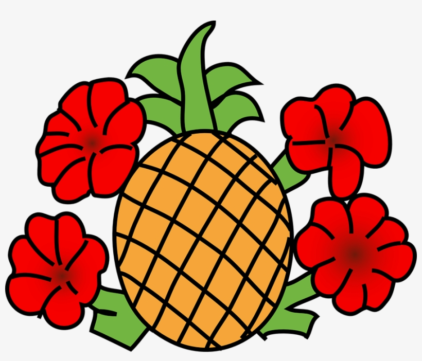 Clip Arts Related To - Pineapple Clip Art, transparent png #540354