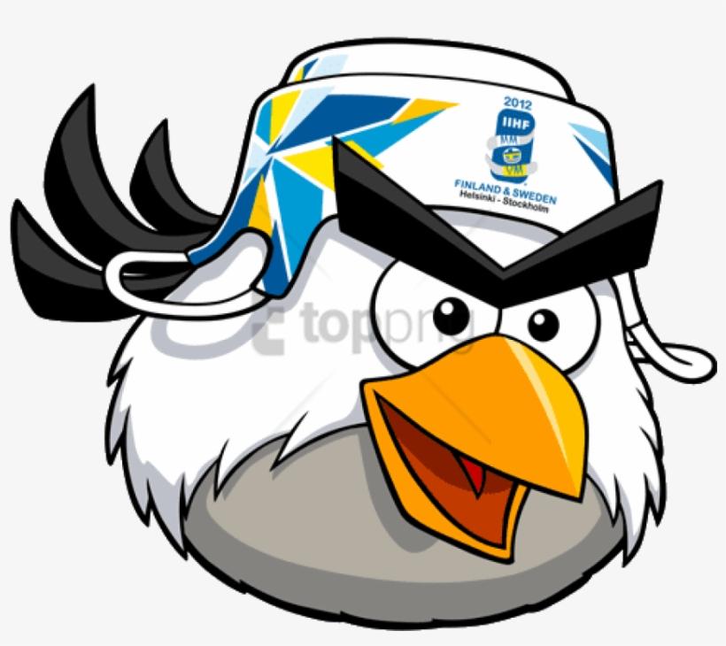 Bird Hockey Angry Birds Rio Bird Types - Angry Birds Hockey Bird, transparent png #540913