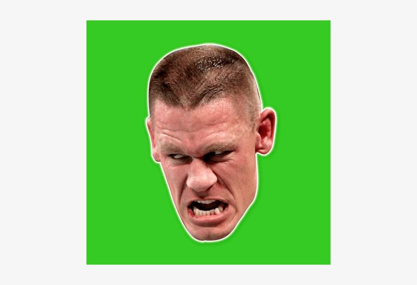 Savage John Cena Mask - John Cena, transparent png #540991