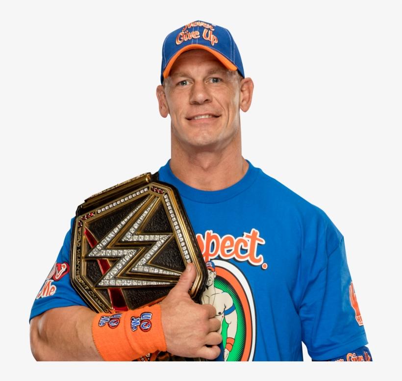 John Cena Wwe Championship Picture - John Cena Wwe Champion Render, transparent png #541153