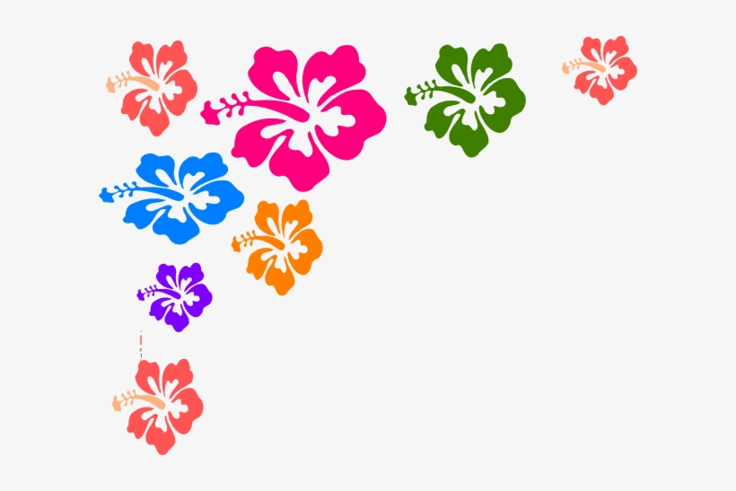 Image Free Free Clipart Of Hawaii - Flower Color Vector Png, transparent png #541154