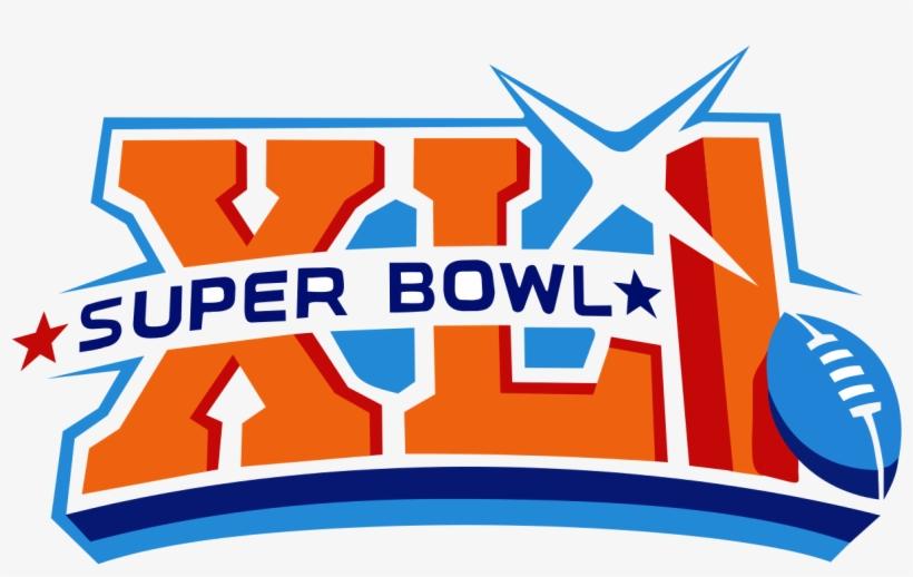 February Clipart Super Bowl - Super Bowl 2007 Logo, transparent png #541934