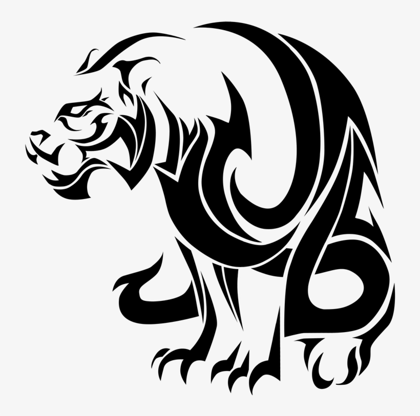 More Like Chinese Zodiac Tattoo Tiger By Visuallyours - Tiger Tattoo Designs, transparent png #542751