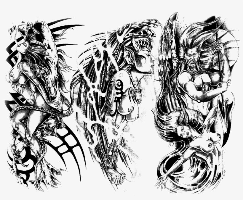Punk tattoo 40+ Steampunk