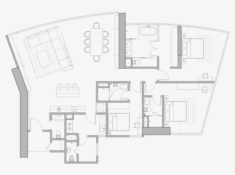 Free Vector Floor Plan Elements Beautiful Architectural