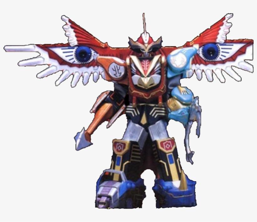 Isis Megazord & Gaoicarus - Zyuoh Ninnin Super Sentai Robo
