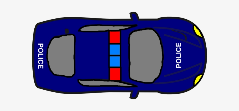 Image Of Car Clipart Top View Police Car Clipart Top View Free