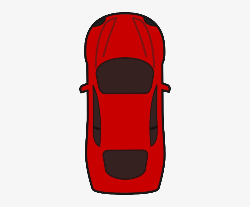 Red Car Car Clipart Top View Free Transparent Png Download Pngkey