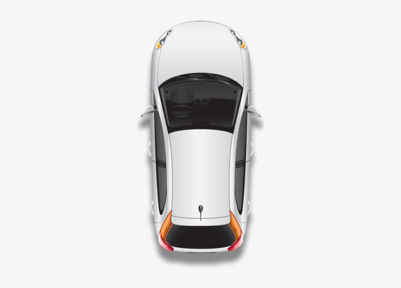 What's Included In The Inspection - Car Top View Transparent Background, transparent png #545292
