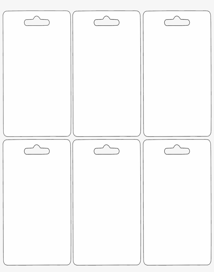 Hang Tag Templates Printable