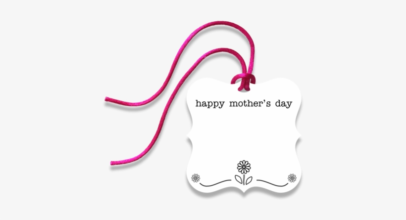 Mother's Day Gift Tag - Happy Mother's Day Gift Tag Png, transparent png #547708