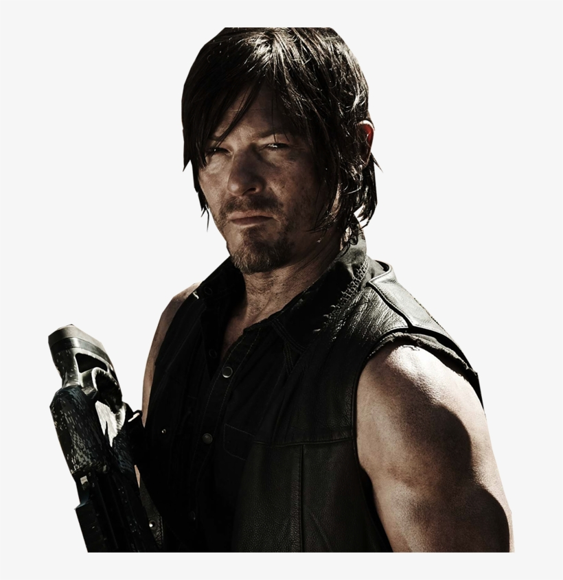 Png Daryl - Walking Dead Hardcover Ruled Journal - Daryl Dixon, transparent png #548075