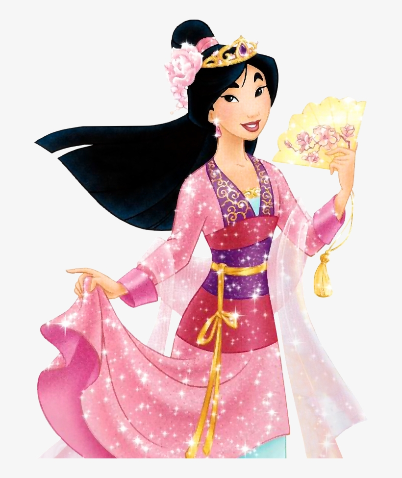 Disney Princess Images Princess Deluxe Ballgown Hd - Mulan Disney Princess Dress, transparent png #548170