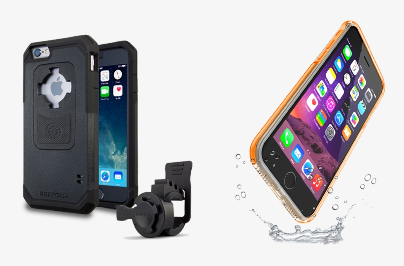 We Care For Maximum Comfort, Safety And Performance - Rokform For Apple Iphone 6 / 6s Mobile Phone Holder, transparent png #5406288