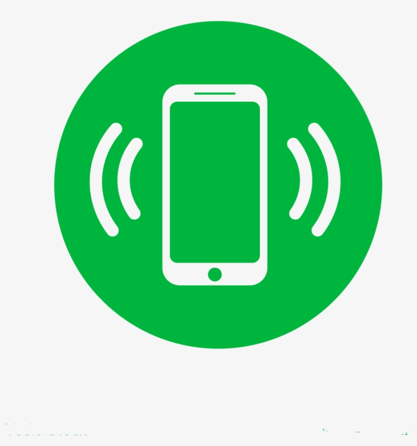 Cellphone - Mobile Phone Icon Circle, transparent png #5409778